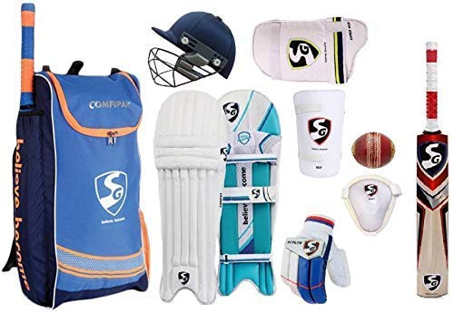 SG Complete Cricket Kit with Ball